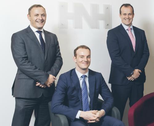 Craig Holmes, Peter Graham & Richard Moorehead of HNH Group.